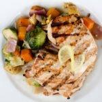 chicken with veggies and lemon